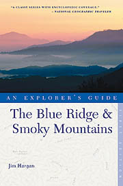 "Cover of the book, ""The Blue Ridge and Smoky Mountains: An Explorers Guide, 2nd Edition"", by Jim Hargan; published by Countryman Press (WW Norton), Apr 2005"